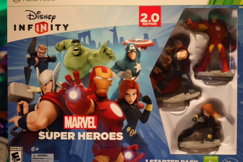 Disney Infinity Marvel Super Heroes Starter Pack_14507906374_l