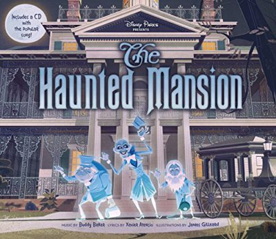 Book Review - The Haunted Mansion Picture Book - LaughingPlace com
